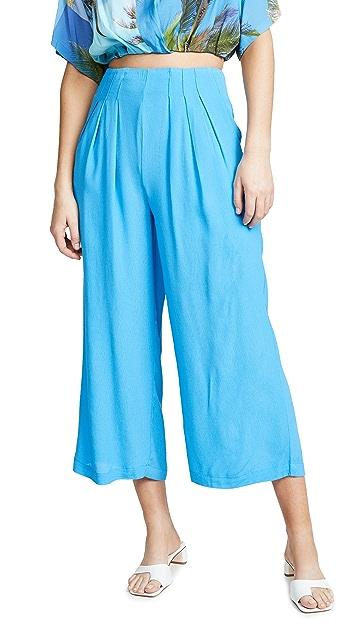 J.O.A.  蓝色长裤