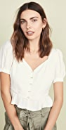 J.O.A. Ivory 女式衬衫