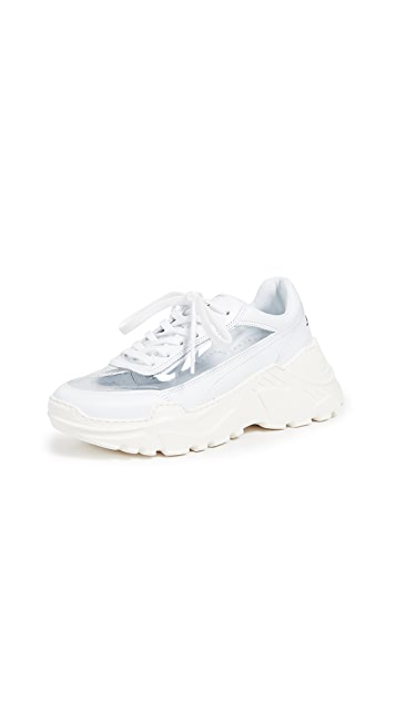 Joshua Sanders Zenith White PVC 运动鞋