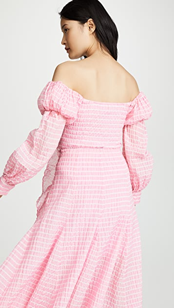 Anais Jourden Lolita 露肩条纹上衣