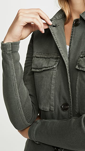 James Perse 混合材质夹克