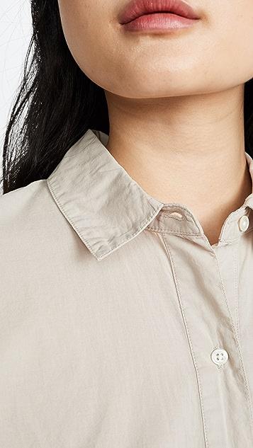 James Perse Lawn 棉质宽松衬衫