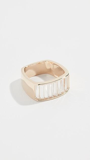 Jane Taylor 14K 方形指环戒指