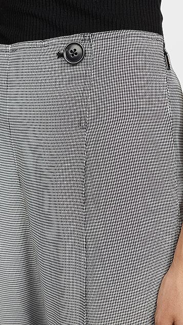 Jason Wu Grey 迷你格纹西装裤