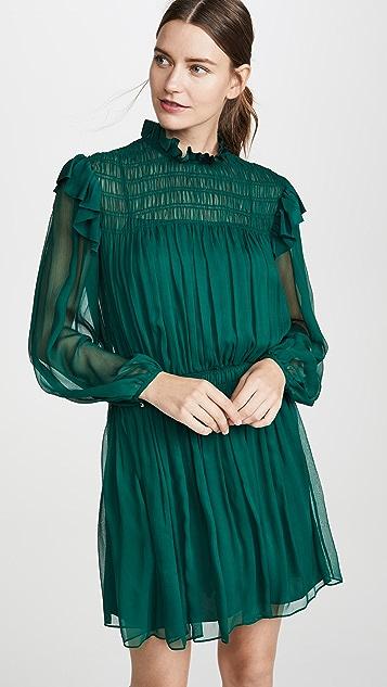 Jason Wu 裂纹雪纺连衣裙