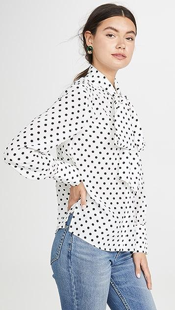 Jason Wu 圆点花纹女衬衫