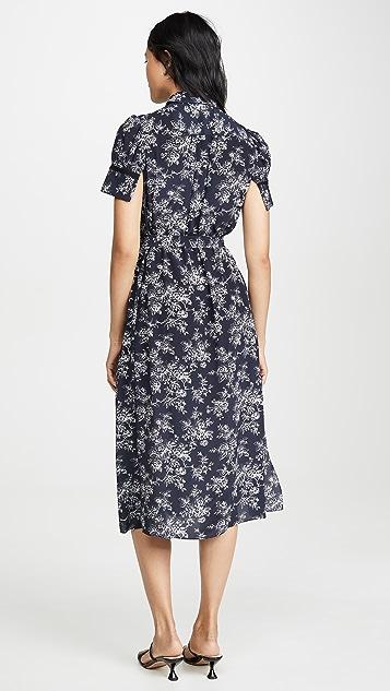 Jason Wu 系腰衬衣式连衣裙