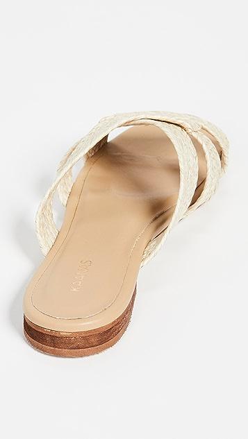 KAANAS Yilan 蜘蛛网凉鞋