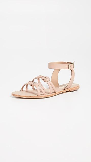KAANAS Guarulhos Knot 凉鞋