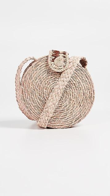 KAANAS Akumal 梭织圆形斜背包