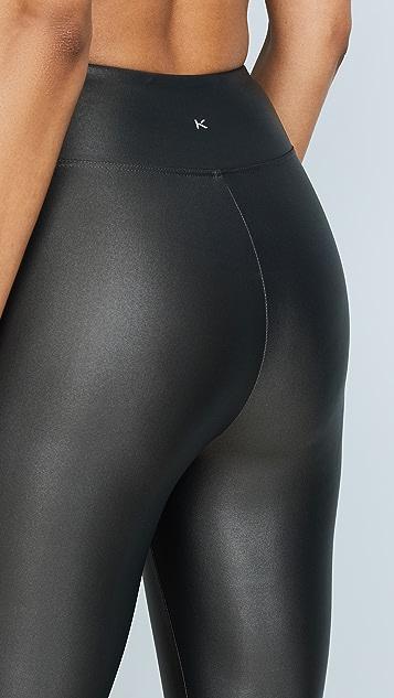 KORAL ACTIVEWEAR 光泽高腰贴腿裤
