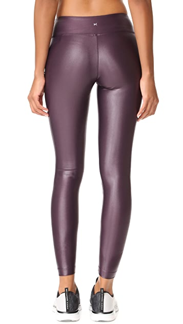 KORAL ACTIVEWEAR 光泽贴腿裤