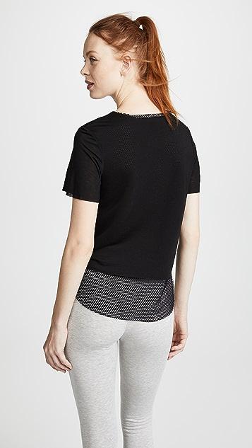 KORAL ACTIVEWEAR 双层 T 恤