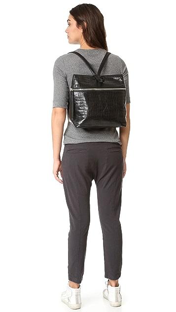 KARA 鳄鱼压纹背包