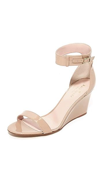 Kate Spade New York Ronia 坡跟凉鞋