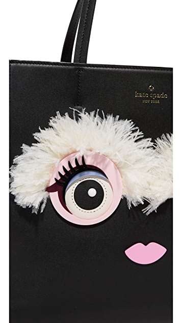 Kate Spade 纽约 Monster Eyes Hallie 手提袋