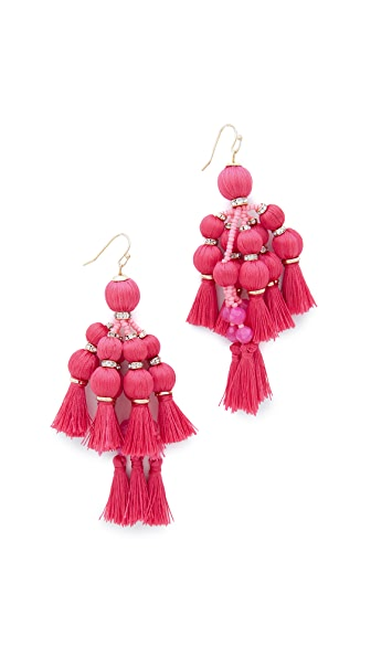 Kate Spade New York Pretty Poms 流苏个性耳环