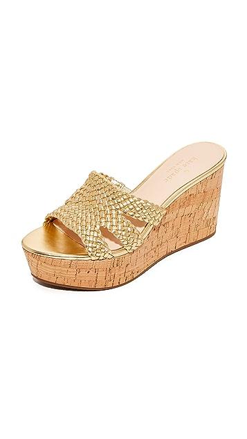 Kate Spade New York Taravela 坡跟鞋