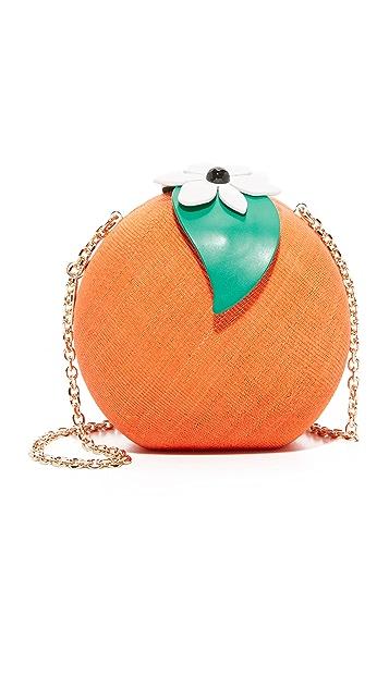Kate Spade New York 橙子草编手包