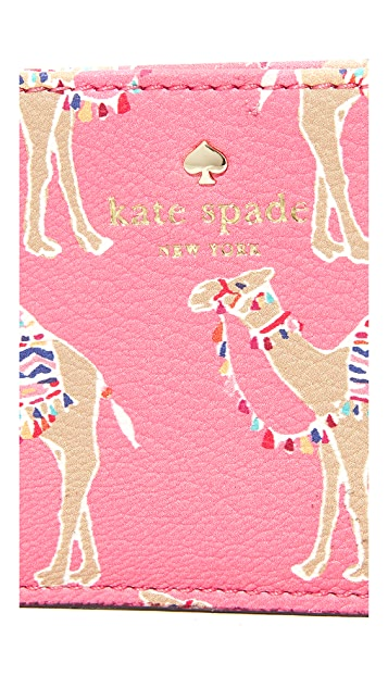 Kate Spade New York 前进骆驼卡片包