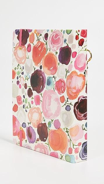Kate Spade 纽约 花卉印花大号全年计划本