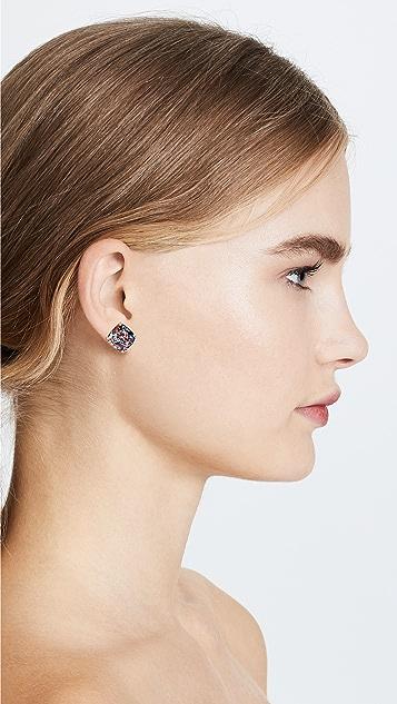 Kate Spade New York 小号方形耳钉