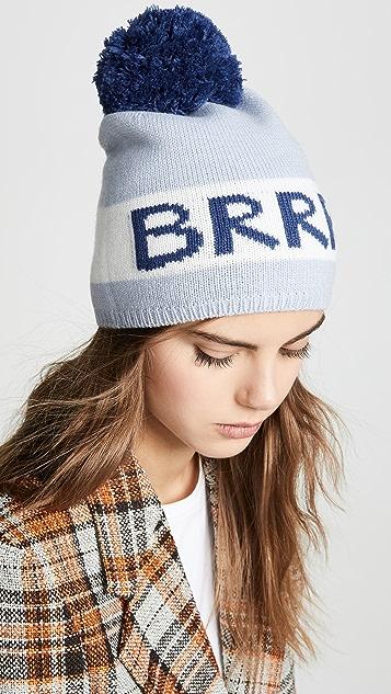 Kate Spade 纽约 BRRR 毛线帽