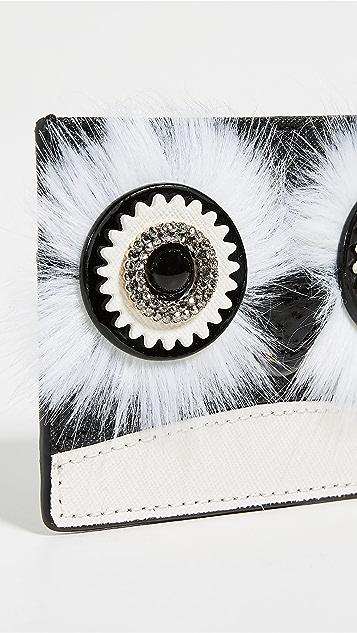 Kate Spade 纽约 时尚企鹅卡片包