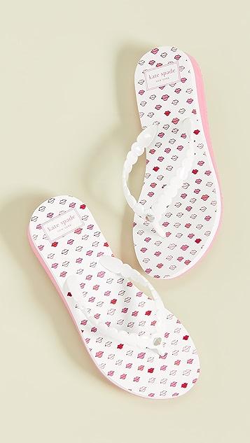 Kate Spade New York Malta 夹趾凉鞋