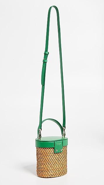 Kate Spade New York 玫瑰图案迷你水桶包