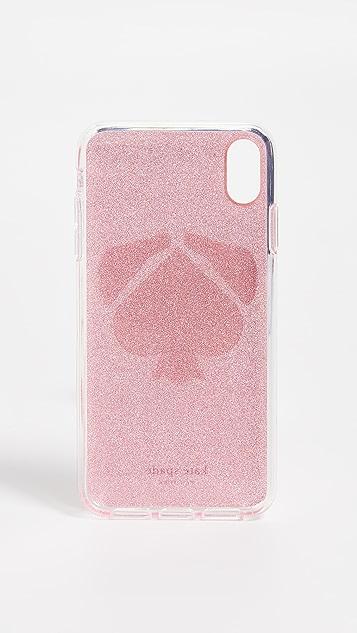 Kate Spade New York Glitter Mod Dog iPhone XS Max 手机壳