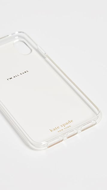 Kate Spade New York Matchbooks XS / X iPhone 手机壳