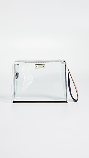 Kate Spade New York Sam 透视中号化妆包
