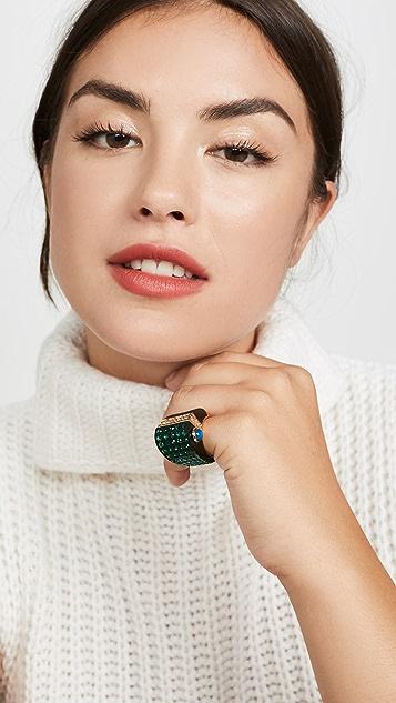 Kate Spade New York 热带天堂鹦鹉戒指