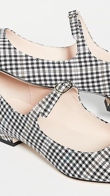 Kate Spade New York Mallory 玛丽珍平底鞋