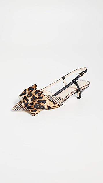 Kate Spade New York Daxton 露跟浅口鞋