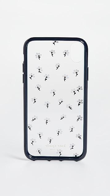 Kate Spade New York 镶嵌珠宝雏菊 iPhone 手机壳