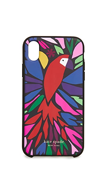Kate Spade New York Papercut Parrot iPhone 手机壳