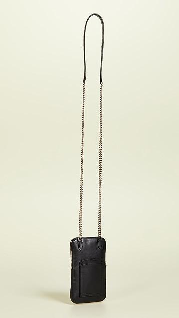 Kate Spade New York 珠饰植绒派对手机斜挎包