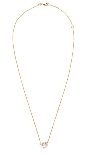 KC Designs 椭圆形钻石项链