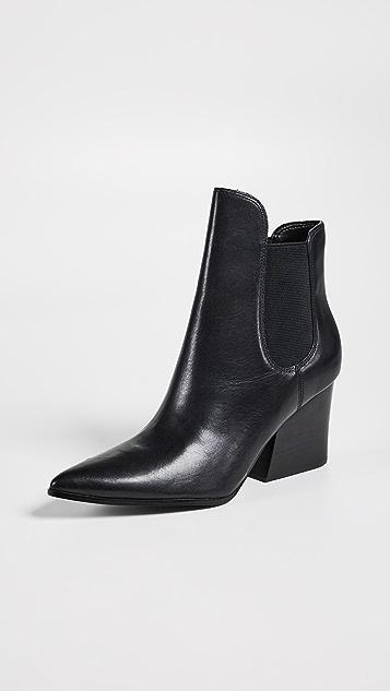 KENDALL + KYLIE Finley 皮革短靴