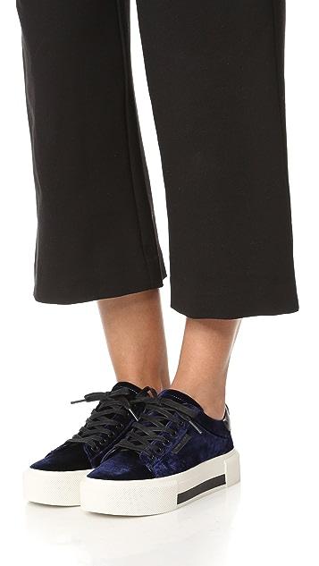 KENDALL + KYLIE Tyler Velvet 厚底运动鞋