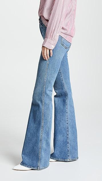 Khaite Reece 喇叭牛仔裤