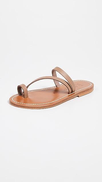 K. Jacques Actium 趾环凉鞋