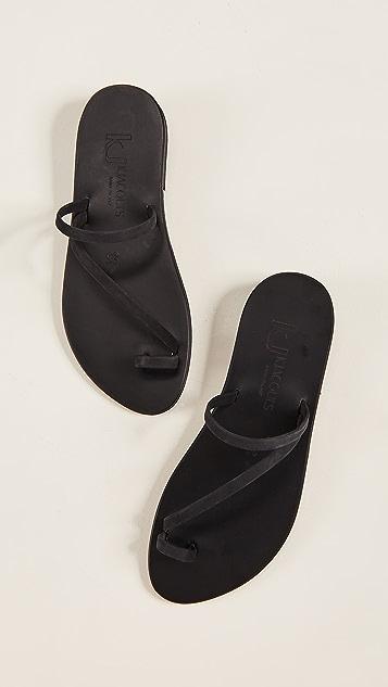 K. Jacques Bolzano 趾环凉鞋