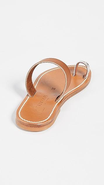 K. Jacques Kali 趾环便鞋