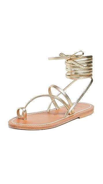 K. Jacques Ellada 环绕式凉鞋