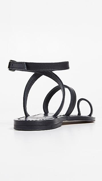 K. Jacques Loki 趾环凉鞋