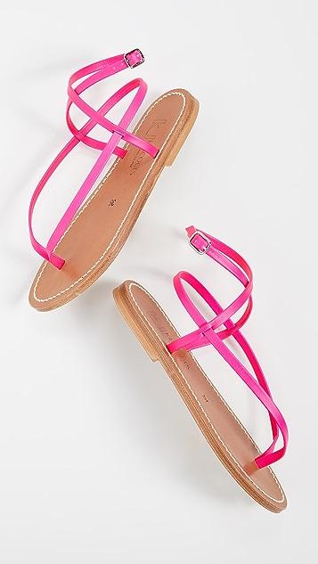 K. Jacques Delta 人字凉鞋