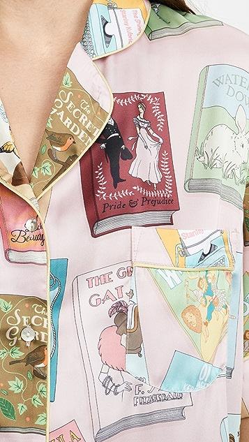 Karen Mabon Book Covers 短袖睡衣